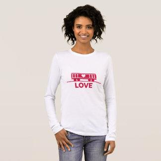 Camiseta Manga Longa Amor das crianças do vagão coberto