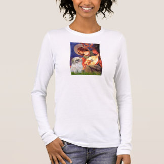 Camiseta Manga Longa Anjo do bandolim - Shih Tzu (P)