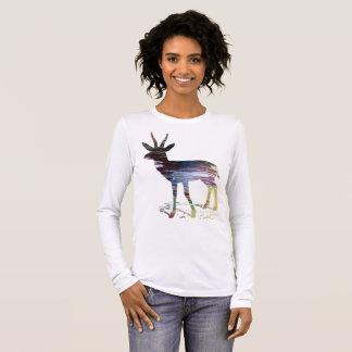 Camiseta Manga Longa Arte da gazela