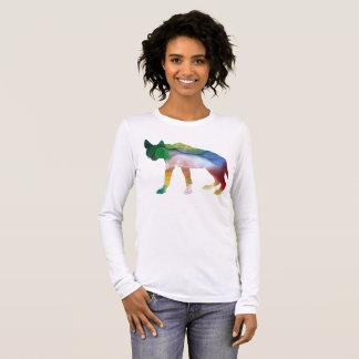 Camiseta Manga Longa Arte da hiena