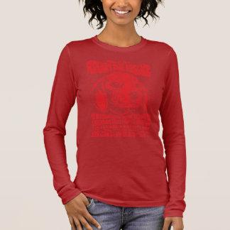 Camiseta Manga Longa Benefício de RDR (vermelho do vintage)