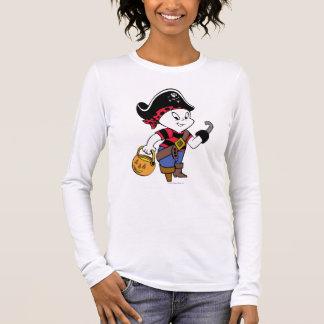 Camiseta Manga Longa Casper no traje do pirata