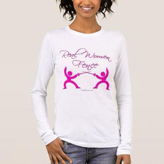 Camiseta Manga Longa Cerca das mulheres reais