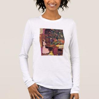 Camiseta Manga Longa Clara e o Nutcracker