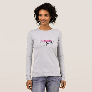 Camiseta Manga Longa Combustível das mamães