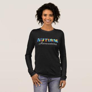 Camiseta Manga Longa Consciência 101 do autismo