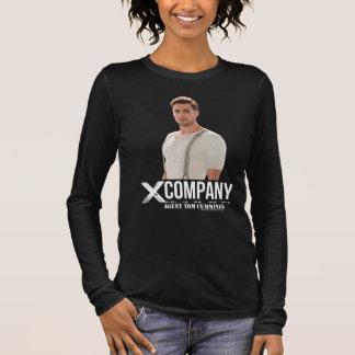 Camiseta Manga Longa Cummings de Tom do agente