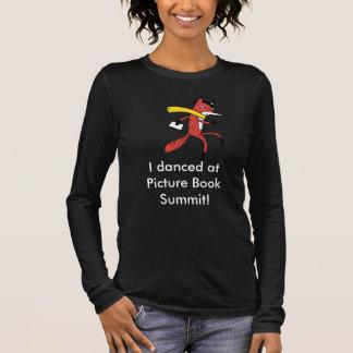 Camiseta Manga Longa Dança 2016 da cimeira do livro ilustrado
