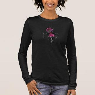 "Camiseta Manga Longa De ""t-shirt da bailarina do zombi Sasha"""