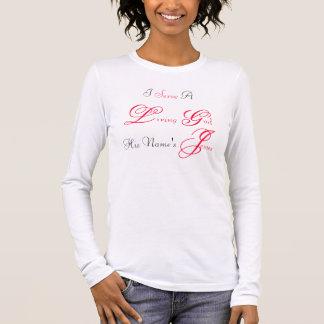 Camiseta Manga Longa Deus vivo