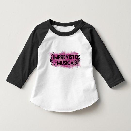 Camiseta manga longa do IM para bebês