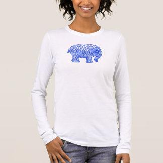 Camiseta Manga Longa Elefante finito