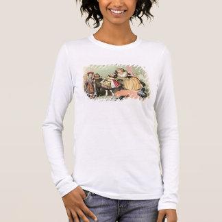 Camiseta Manga Longa Elizabeth mim (1533-1603): com Robert Devereux, ò