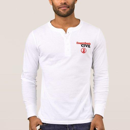 Camiseta manga longa engenharia civil / engineerig
