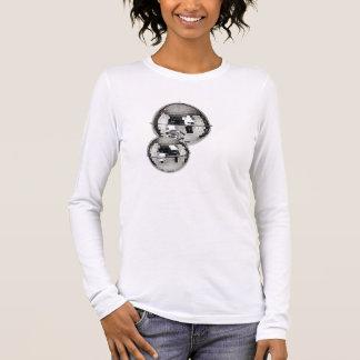 Camiseta Manga Longa Espelho-Disco-Ball