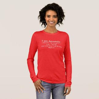 Camiseta Manga Longa Eu sou apostólico