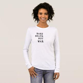 Camiseta Manga Longa Faça a guerra das batidas não
