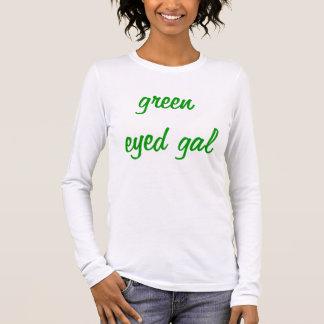Camiseta Manga Longa galão eyed verde