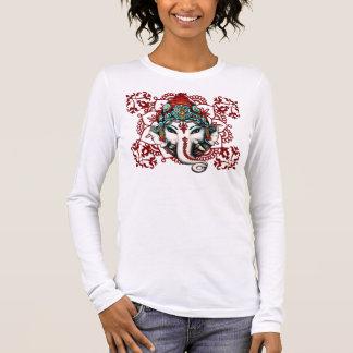 Camiseta Manga Longa GANESHA, deidade Hindu