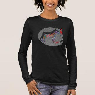 Camiseta Manga Longa Giz de w da arte dos Dobermans
