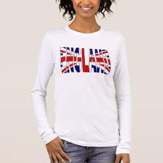 Camiseta Manga Longa Inglaterra