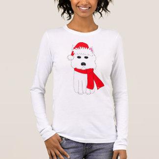 Camiseta Manga Longa Inverno Westie