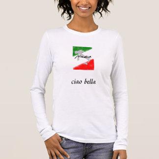 Camiseta Manga Longa italia, bella do ciao