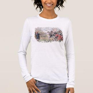 Camiseta Manga Longa Joana do arco (1412-31) pede o inglês para sair