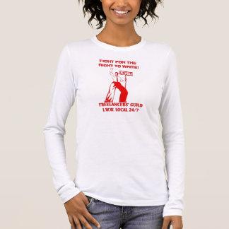 Camiseta Manga Longa Local 247 da guilda dos Freelancers