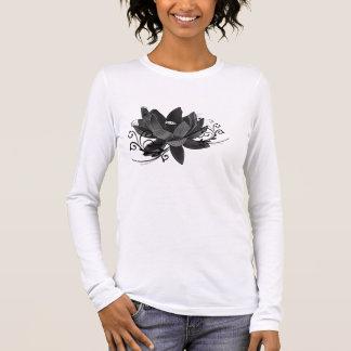 Camiseta Manga Longa Lotus-flor