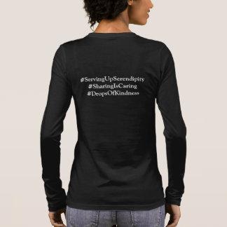 Camiseta Manga Longa Luva longa cinzenta da urze