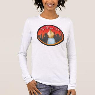Camiseta Manga Longa Luva longa das senhoras do salão de beleza dos