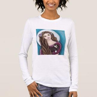 Camiseta Manga Longa Luva longa do amor maternal