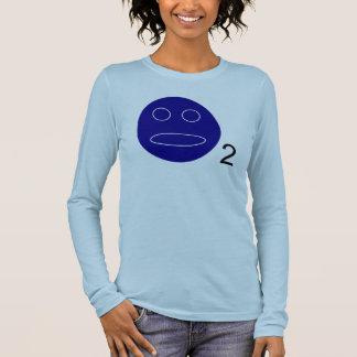 Camiseta Manga Longa Luva longa dos parvos do oxigênio