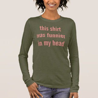 Camiseta Manga Longa mais engraçado