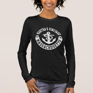 Camiseta Manga Longa Martha's Vineyard Massachusetts