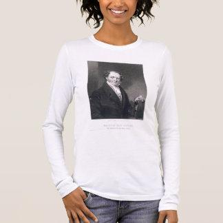 Camiseta Manga Longa Martin Van Buren, gravado por E. Wellmore (engravi
