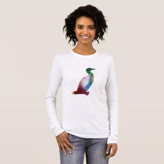 Camiseta Manga Longa Mergulhão-do-norte