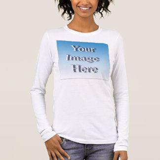 Camiseta Manga Longa Modelo feito sob encomenda da imagem do gênio