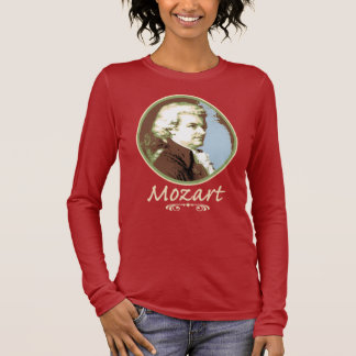 Camiseta Manga Longa Mozart
