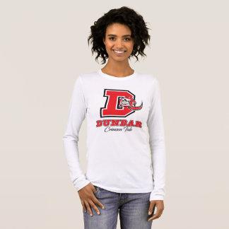Camiseta Manga Longa Mulheres carmesins da maré de Dunbar
