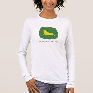 Camiseta Manga Longa Nada funciona como um T das senhoras Longsleeve do