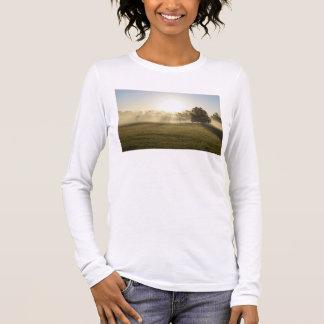Camiseta Manga Longa Névoa da manhã de Ozarks