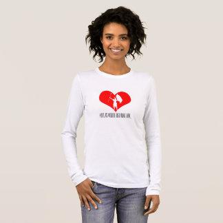 Camiseta Manga Longa O amor vale a luta por…