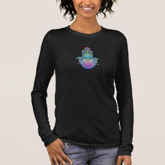 Camiseta Manga Longa O t-shirt das mulheres judaicas de Chamsah