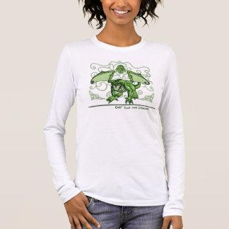 Camiseta Manga Longa Obtenha seu próprio t-shirt da flora do jade do ~