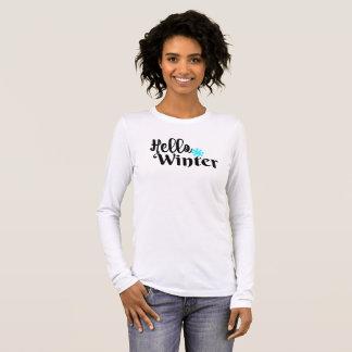 Camiseta Manga Longa Olá! inverno