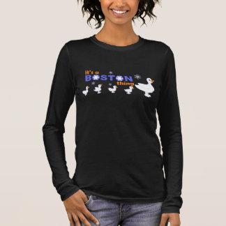Camiseta Manga Longa Os KRW fazem a maneira para o T longo da luva de