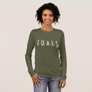 Camiseta Manga Longa Parte superior das senhoras do exército do ALS de