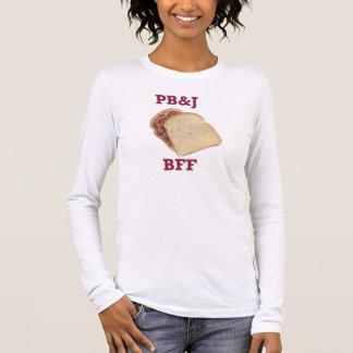 Camiseta Manga Longa PBnJ BFF